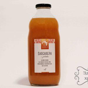 Prirodni sok šargarepa - jabuka