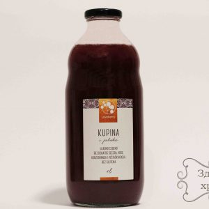Prirodni sok kupina - jabuka