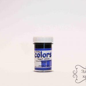 Gel boja - Teget plava