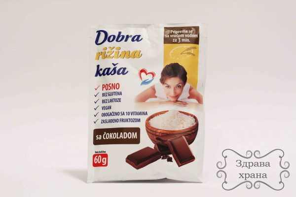 Dobra rižina kaša - čokolada