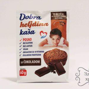 Dobra heljdina kaša - čokolada