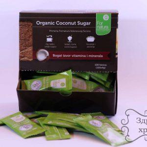 Kokosov šećer u kesicama organski
